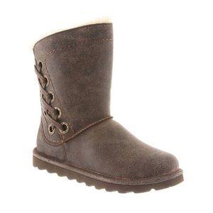 BEARPAW | Womens Morgan Lace Side Wool Lined Boots